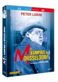 M, El Vampiro De Dusseldorf (Blu-Ray + Dvd)