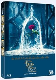 La Bella Y La Bestia (2017) (Blu-Ray 3d + Blu-Ray) (Ed. Metálica)
