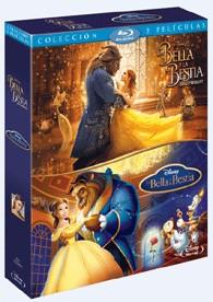 Pack La Bella Y La Bestia (2017) + La Bella Y La Bestia (Animación) (Blu-Ray)