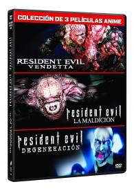 Resident Evil (Animación 3 Películas)