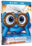 Los Pitufos : La Aldea Escondida (Blu-Ray+DVD) (Ed. Metálica)