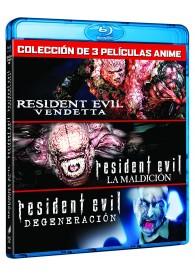 Resident Evil (Animación 3 Películas) (Blu-Ray)