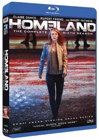 Homeland - 6ª Temporada (Blu-Ray)