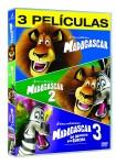 Pack Madagascar (Madagascar 1 + Madagascar 2 + Madagascar 3: de Marcha por Europa)