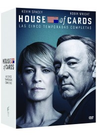 Pack House Of Cards - 1ª A 5ª Temporada