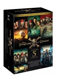 Pack Piratas Del Caribe - Volúmenes 1 a 5