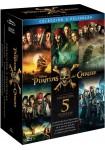 Pack Piratas Del Caribe - Volúmenes 1 a 5 (Blu-Ray)