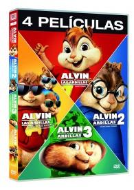 Pack Alvin Y Las Ardillas 1 A 4 (Colección 4 PeIiculas)