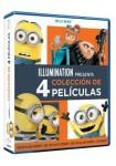 Pack Minions (Gru + Gru 2 + Gru 3 + Minions) (Blu-Ray)
