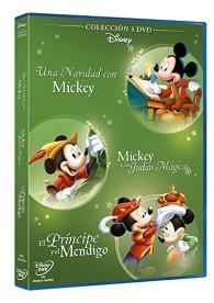 Fábulas Disney : Mickey Y Las Judías Mágicas + El Principe y el Mendigo + Una Navidad Con Mickey