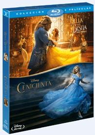 Pack Cenicienta (Imagen Real) + La Bella Y La Bestia (2017)
