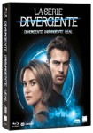 Pack La Serie Divergente : Divergente + Insurgente + Leal (Blu-Ray)