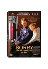 Sorry we missed you (Lo siento, te extrañamos)