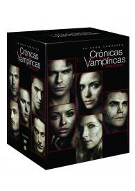Pack Crónicas Vampíricas (Serie Completa, Temporada 1 a 8)